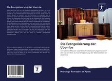 Обложка Die Evangelisierung der Ubembe