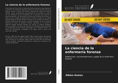 Portada del libro de La ciencia de la enfermería forense
