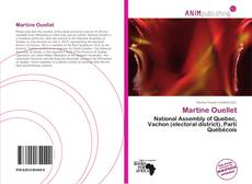Bookcover of Martine Ouellet