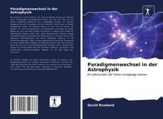 Capa do livro de Paradigmenwechsel in der Astrophysik