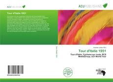 Capa do livro de Tour d'Italie 1951