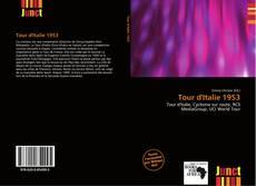 Capa do livro de Tour d'Italie 1953