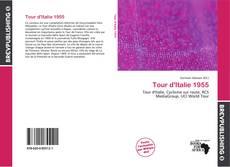 Capa do livro de Tour d'Italie 1955