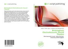 Bookcover of Birmingham ElectroAcoustic Sound Theatre