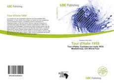 Capa do livro de Tour d'Italie 1959