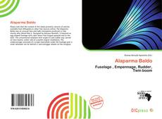 Alaparma Baldo kitap kapağı