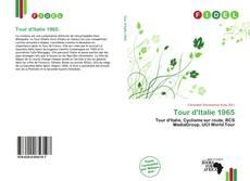 Capa do livro de Tour d'Italie 1965