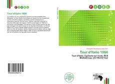 Capa do livro de Tour d'Italie 1966