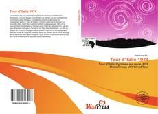 Capa do livro de Tour d'Italie 1974