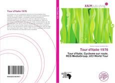 Capa do livro de Tour d'Italie 1976