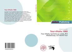 Capa do livro de Tour d'Italie 1980