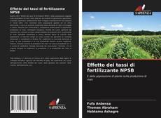 Обложка Effetto dei tassi di fertilizzante NPSB