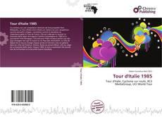 Capa do livro de Tour d'Italie 1985