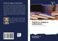 Bookcover of Teorie in Lingua e Letteratura