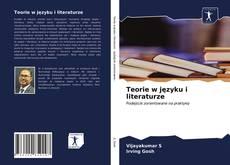 Couverture de Teorie w języku i literaturze