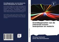Обложка Grondbeginselen van de interactie tussen laserpulsen en materie