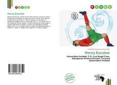 Capa do livro de Henry Escobar