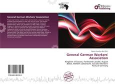 Portada del libro de General German Workers' Association