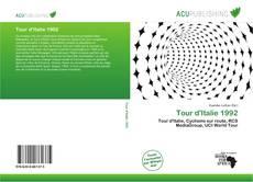 Capa do livro de Tour d'Italie 1992