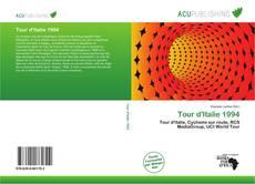 Capa do livro de Tour d'Italie 1994