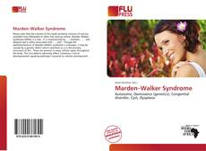 Bookcover of Marden–Walker Syndrome