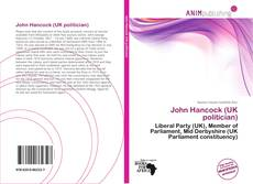 Bookcover of John Hancock (UK politician)