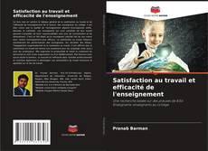 Bookcover of Satisfaction au travail et efficacité de l'enseignement
