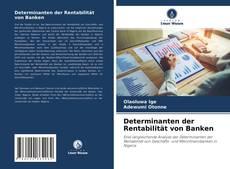 Buchcover von Determinanten der Rentabilität von Banken