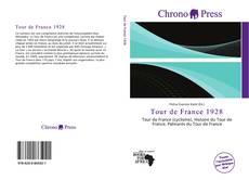 Portada del libro de Tour de France 1928