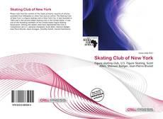 Capa do livro de Skating Club of New York