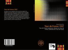 Capa do livro de Tour de France 1937