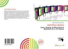 Capa do livro de Joel Chan (Actor)