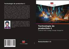 Buchcover von Technologie de production-1