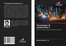 Bookcover of Tecnologia di produzione-1