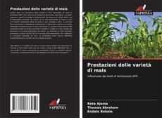 Buchcover von Prestazioni delle varietà di mais