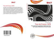 Capa do livro de Tour de France 1978