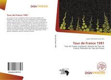 Capa do livro de Tour de France 1981