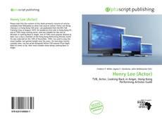 Capa do livro de Henry Lee (Actor)