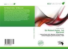 Bookcover of Sir Robert Aske, 1st Baronet