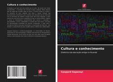 Copertina di Cultura e conhecimento