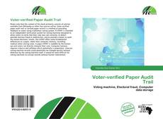 Buchcover von Voter-verified Paper Audit Trail