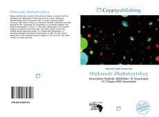 Oleksandr Zhabokrytskyy kitap kapağı