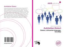 Bookcover of Aukštaitian Dialect