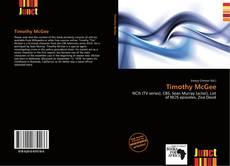 Buchcover von Timothy McGee