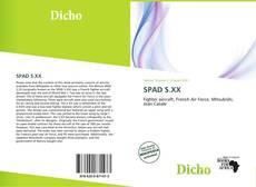 SPAD S.XX kitap kapağı