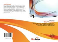 Bookcover of Rita Verdonk