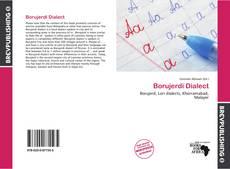 Bookcover of Borujerdi Dialect