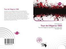 Portada del libro de Tour de l'Algarve 1985