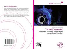 Couverture de Threat (Computer)