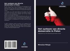 Bookcover of Het systeem van directe democratie in Polen